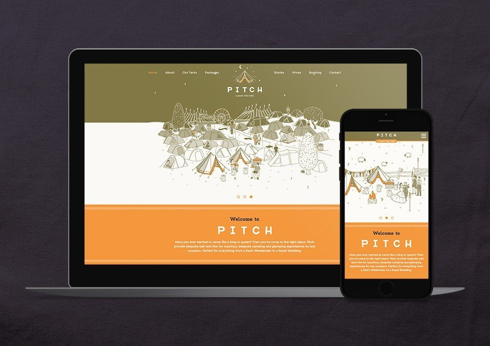 Pitch Branding / Website