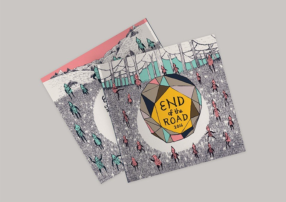 End of the Road Festival Programme Cover
