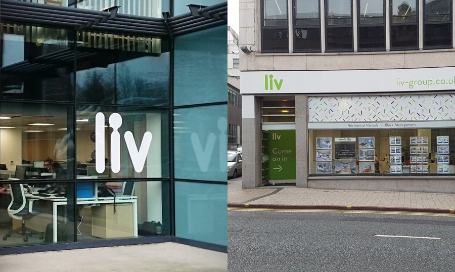 LIV Group - External signage at rental offices