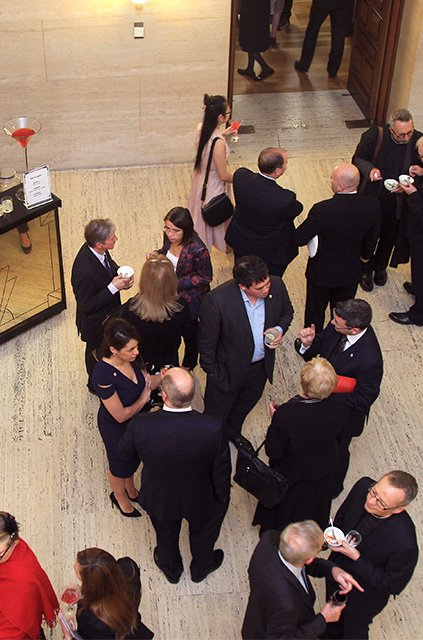 Drinks reception at University of London Foundation Day