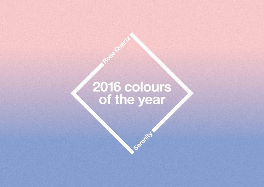 Colours of the Year 2016