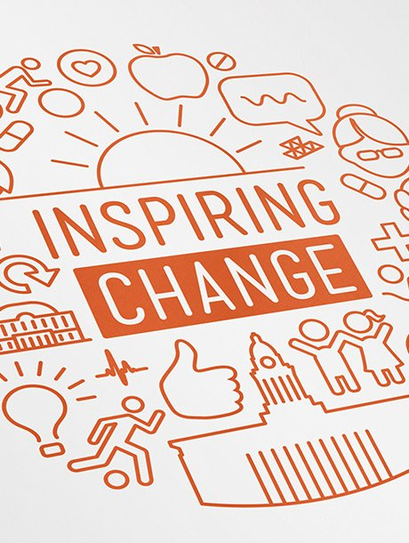 highlights - inspiring change leeds brand graphic