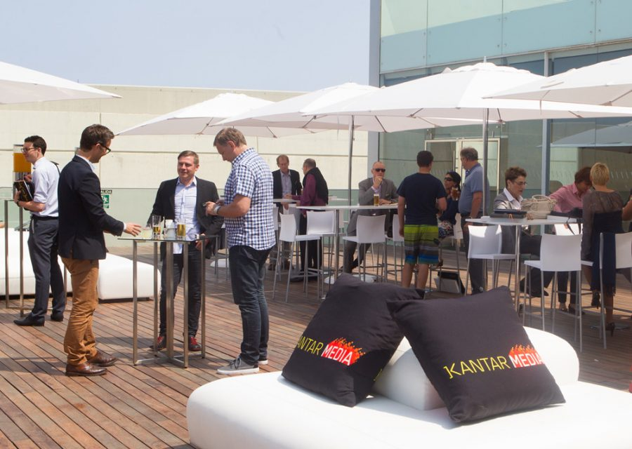 Delegates networking at Kantar Media World Audiences Summit 2013