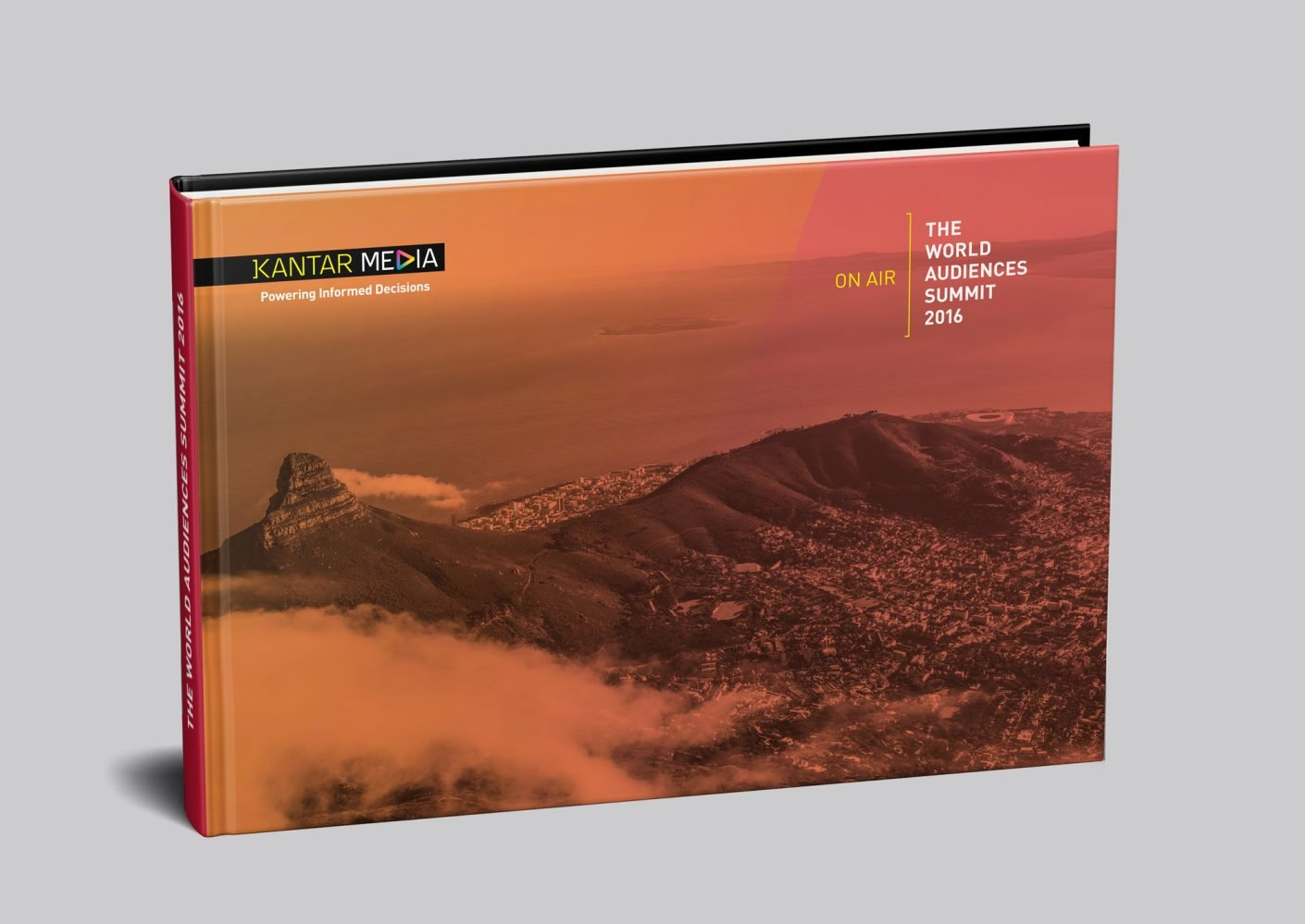 Kantar Media World Audiences Summit 2016 handbook cover