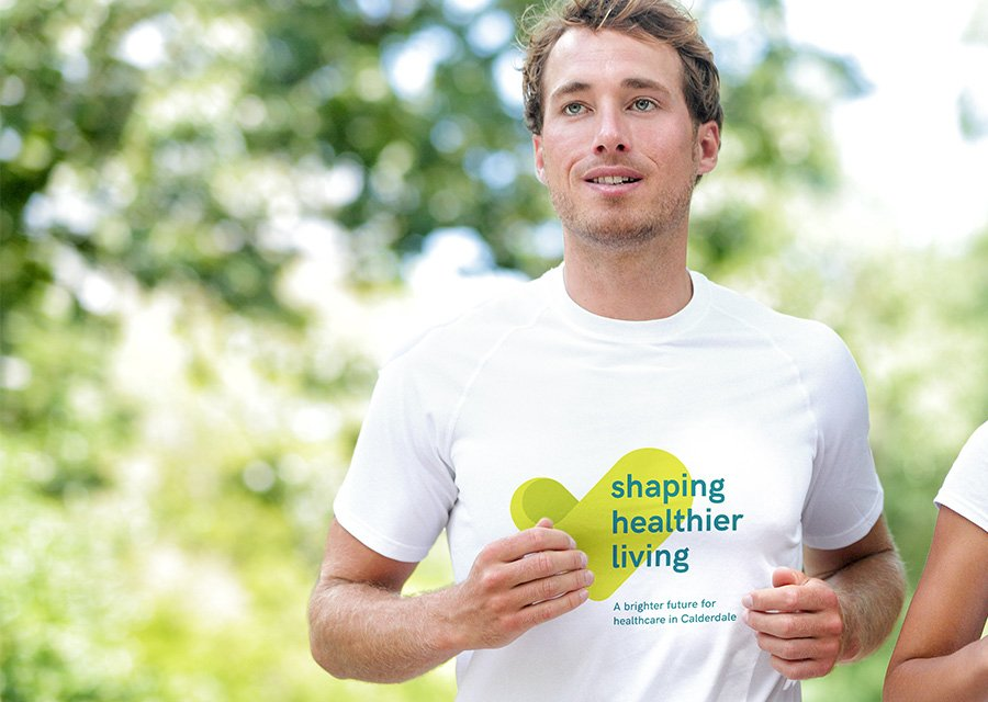 NHS Calderdale Shaping Healthier Living t-shirt