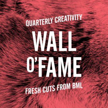 Wall o'Fame #10: Animals