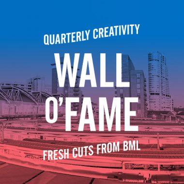 Wall o'Fame Leeds Landmarks