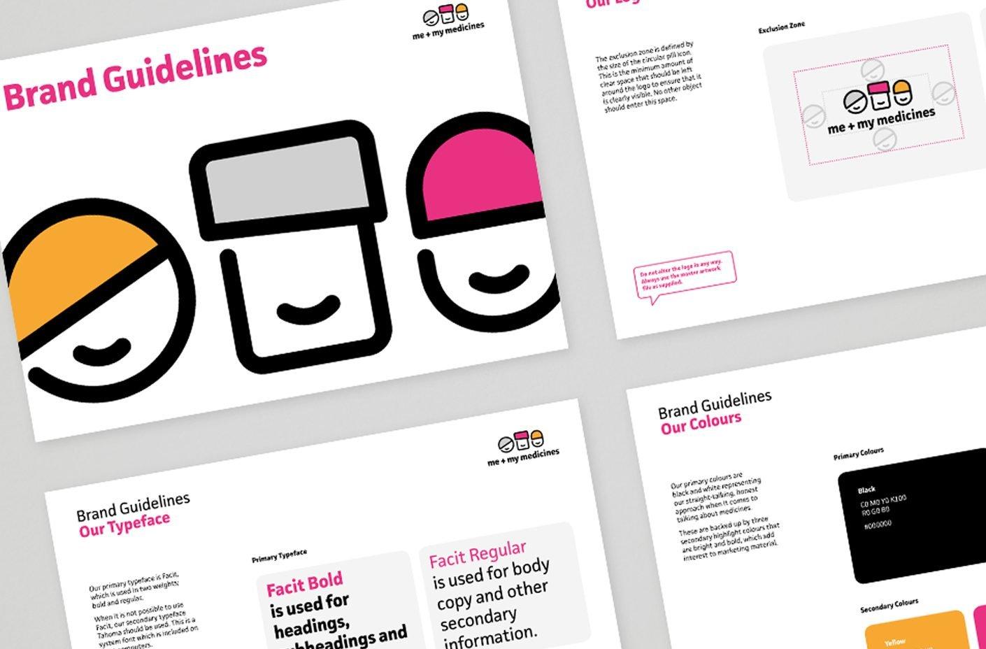Me + My Medicines Brand Guidelines