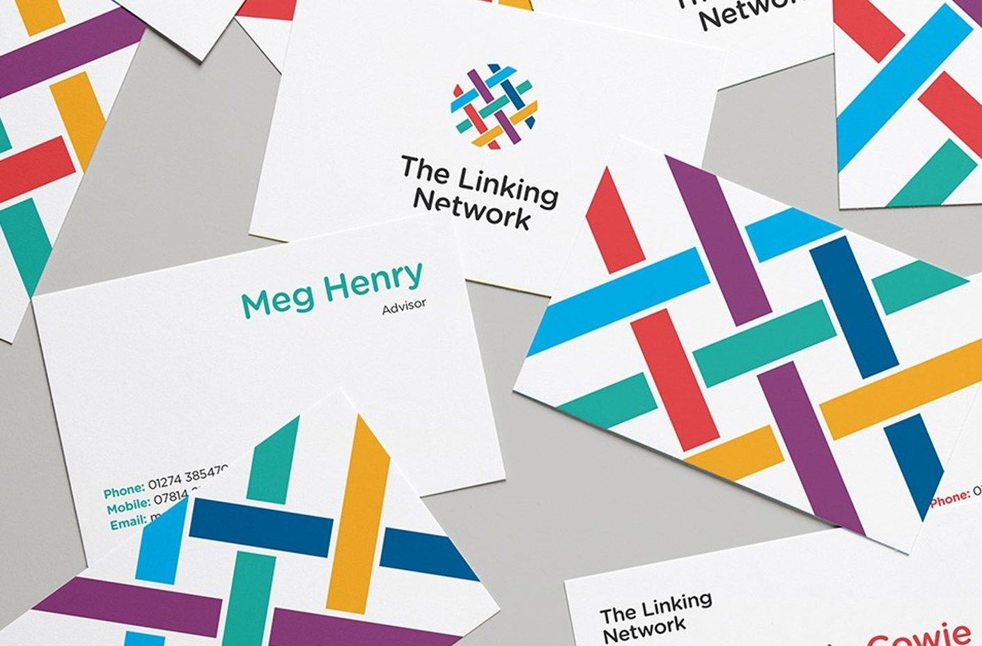The Linking Network Business Cards