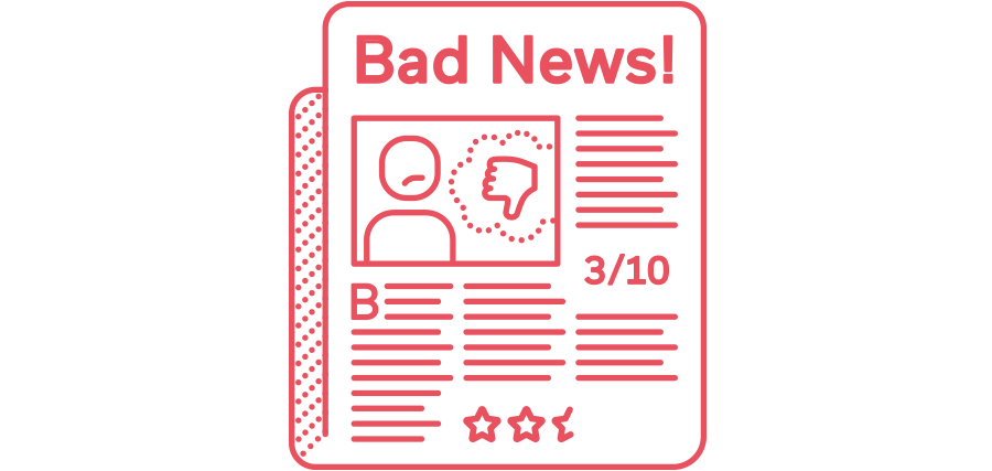 Brand Reputation - Bad