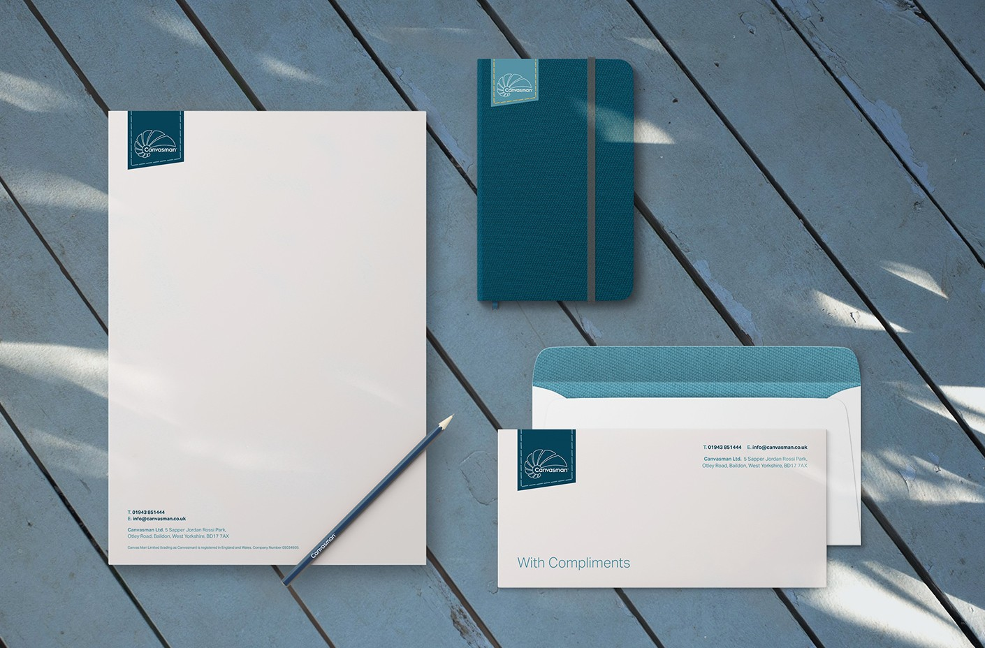 Canvasman corporate stationery