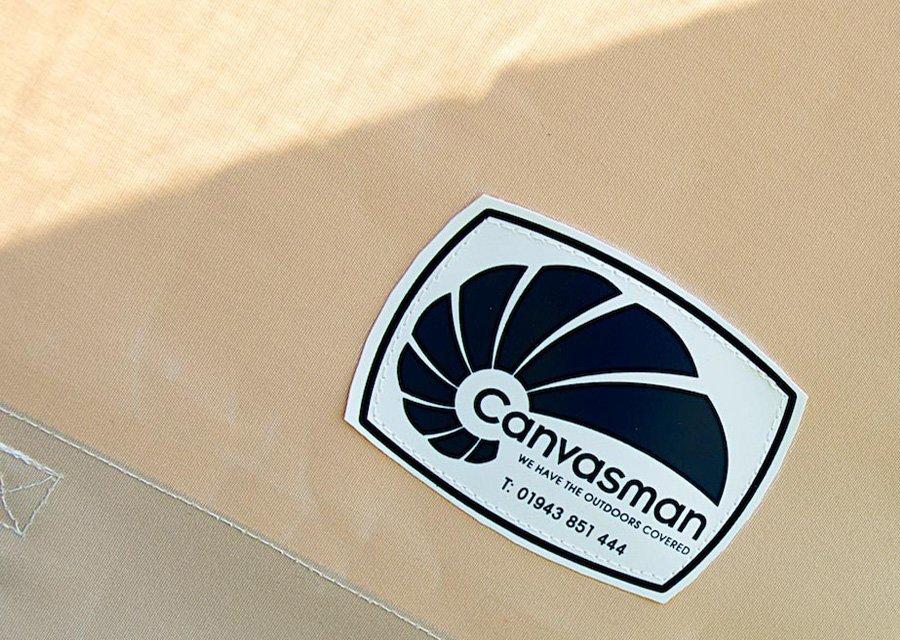 Canvasman logo patch