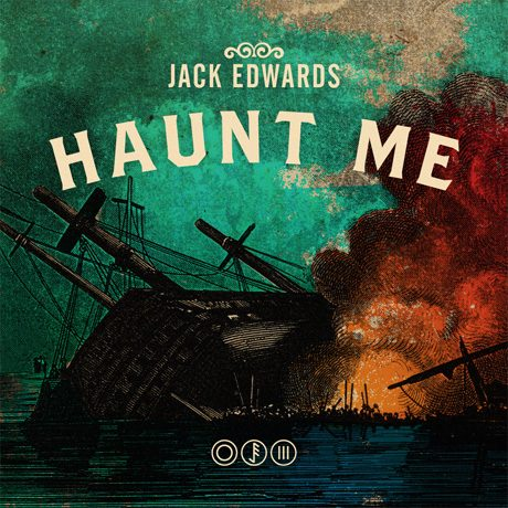 highlights – jack edwards haunt me album cover design
