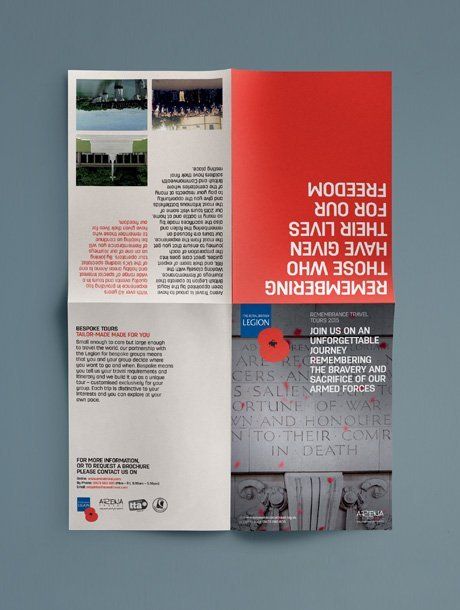 highlights - royal british legion remembrance travel tours leaflet