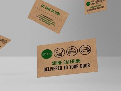 highlights - shine eat good do good brand design