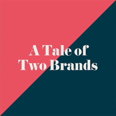 'A Tale of Two Brands' free branding ebook by BML