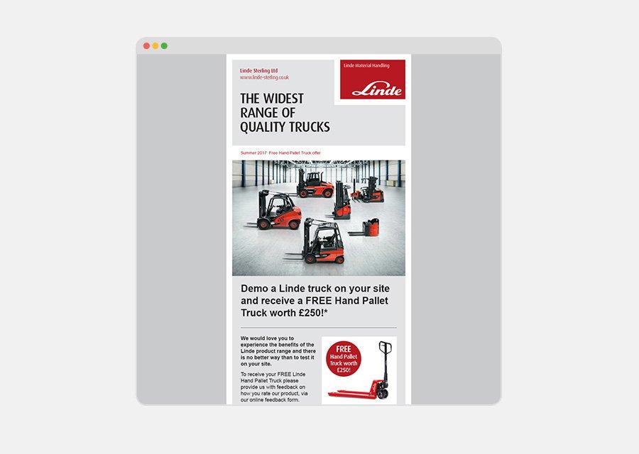 Branding design pricing – branded email template design
