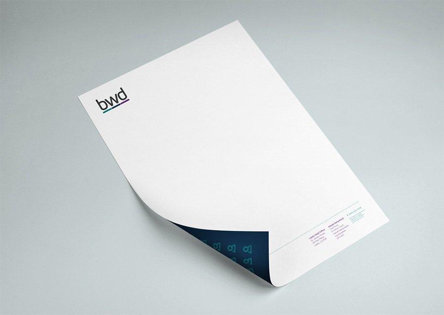 Brand design pricing – brand letterhead design