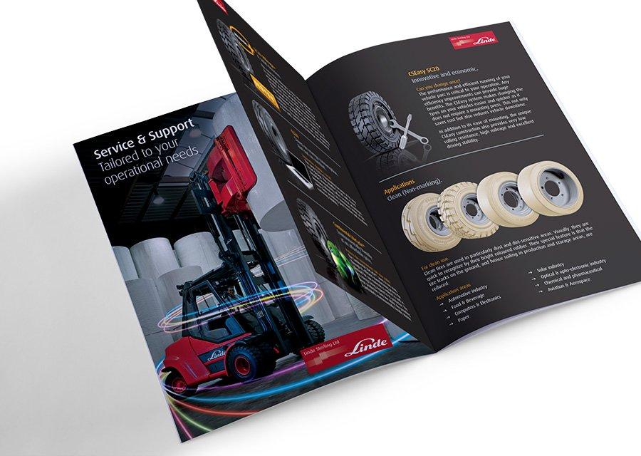 Brand design pricing – brand sales leaflet design