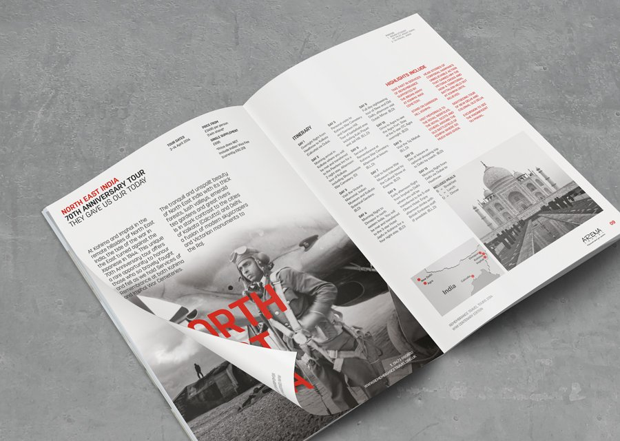 Remembrance Travel Brochure
