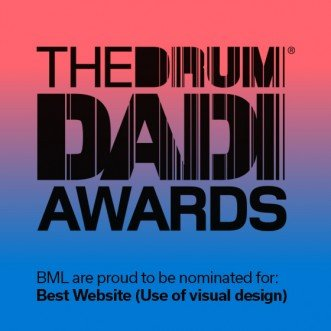 Leeds design agency shortlisted for prestigious international web design award at the 2017 DADIs