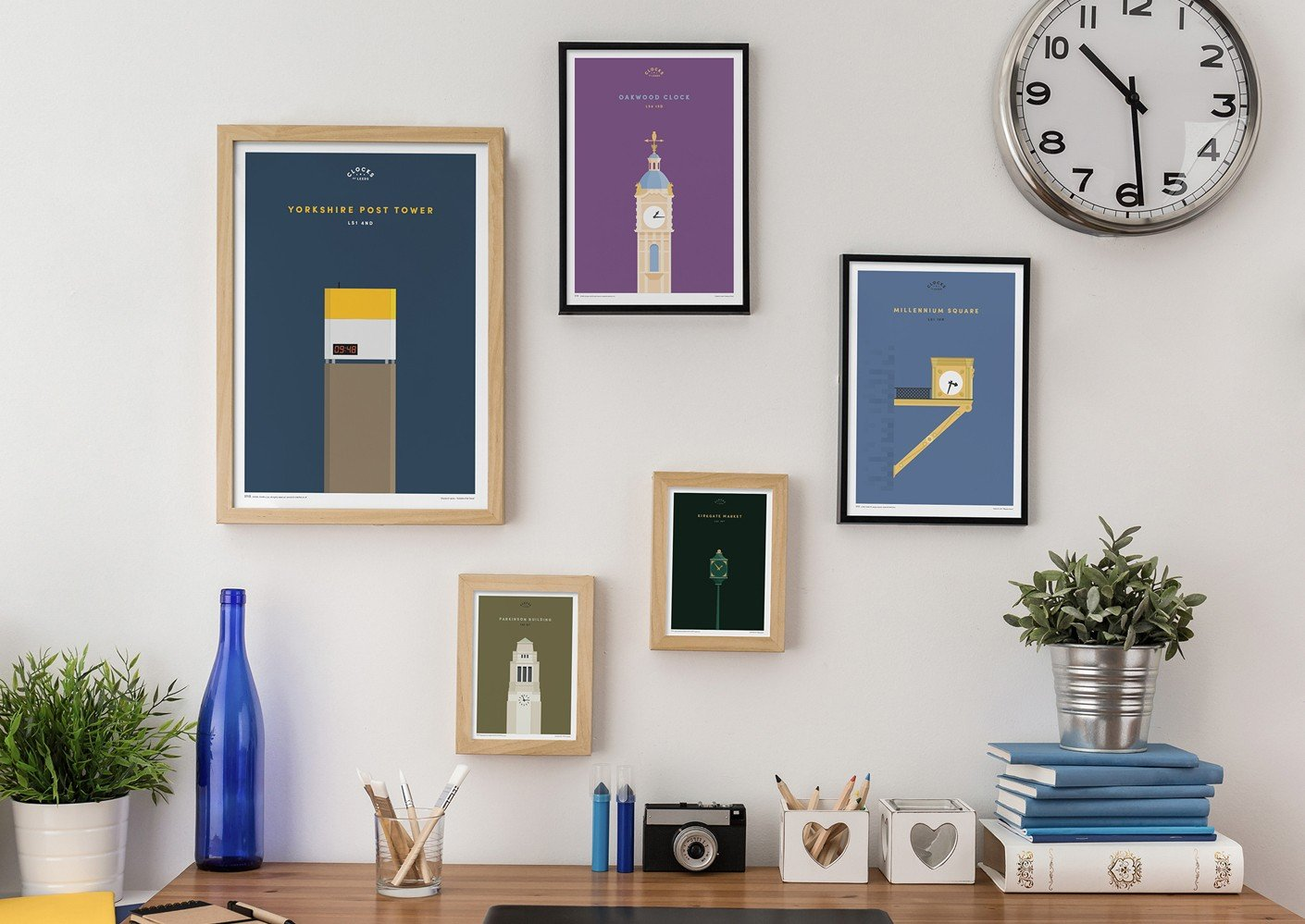 Clocks of Leeds prints