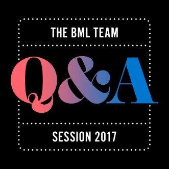BML Q&A Session 2017