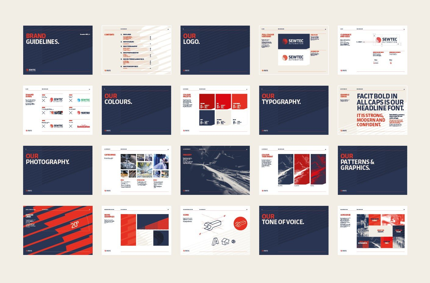 Sewtec brand guidelines
