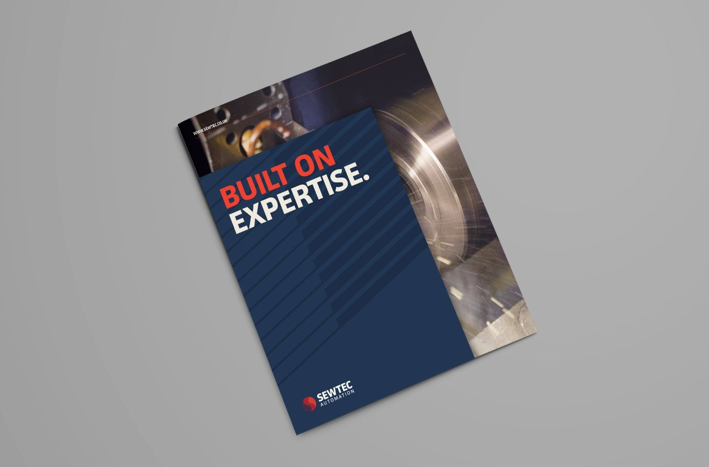 Sewtec Automation Corporate Brochure Cover