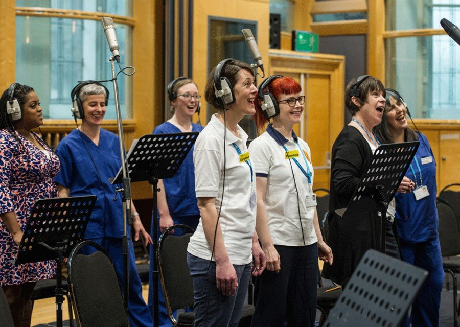 NHS Voices Choir recording