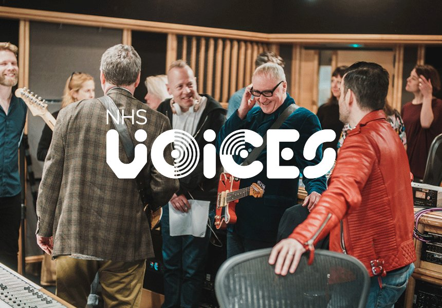 NHS Voices branding