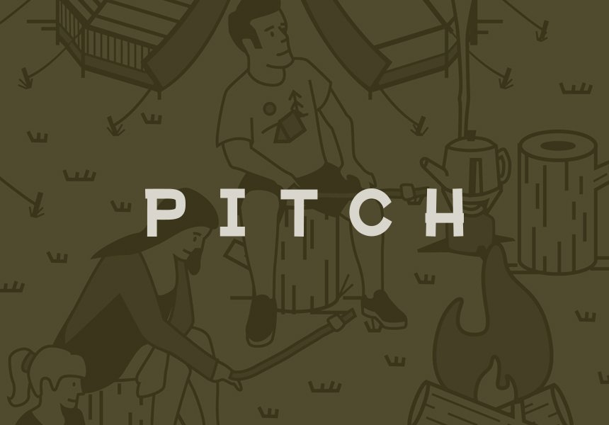 Pitch branding and illustration