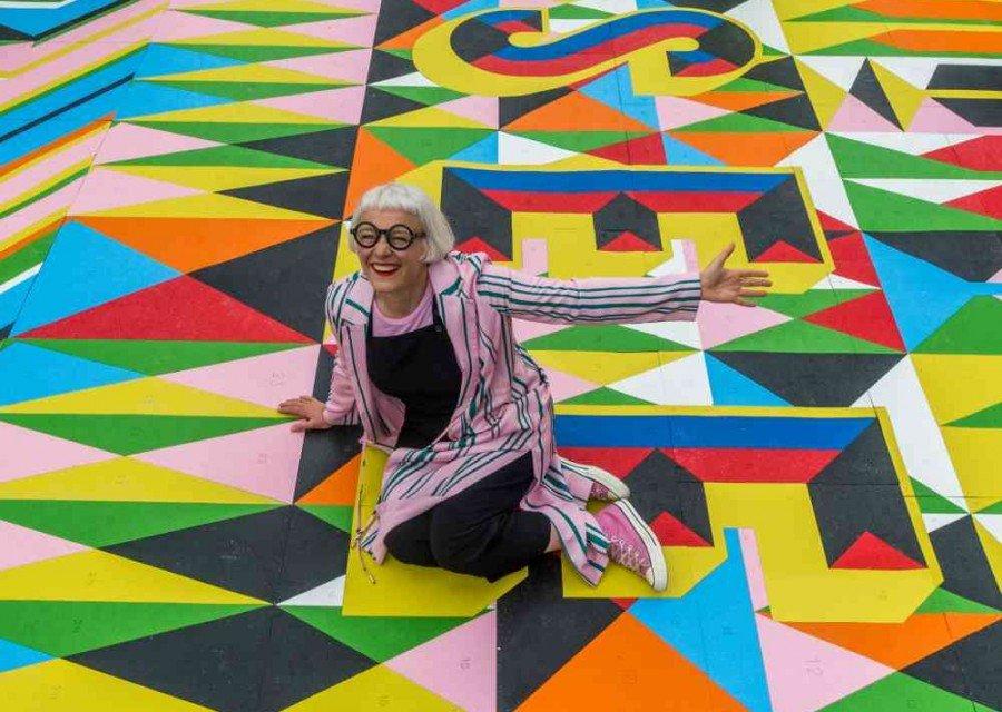 Moran Myerscough - South Bank Leeds Art Installation