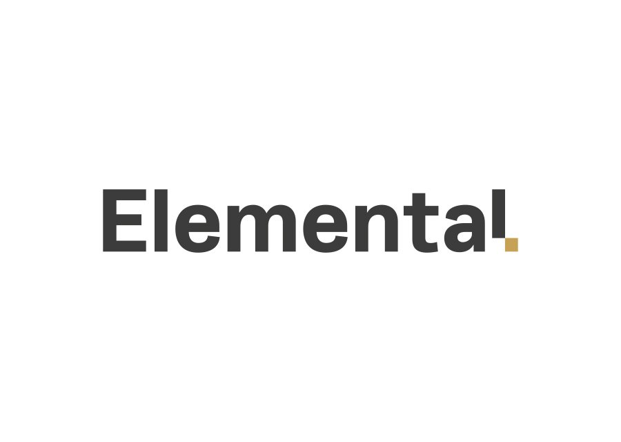 Elemental logo on white background