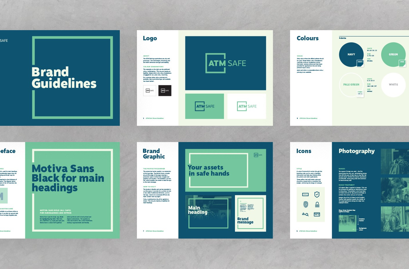 ATM Safe brand guidelines