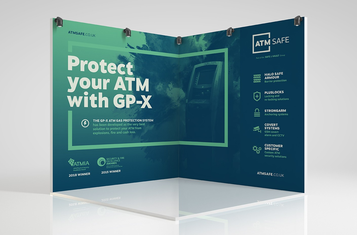 ATM Safe exhibition stand