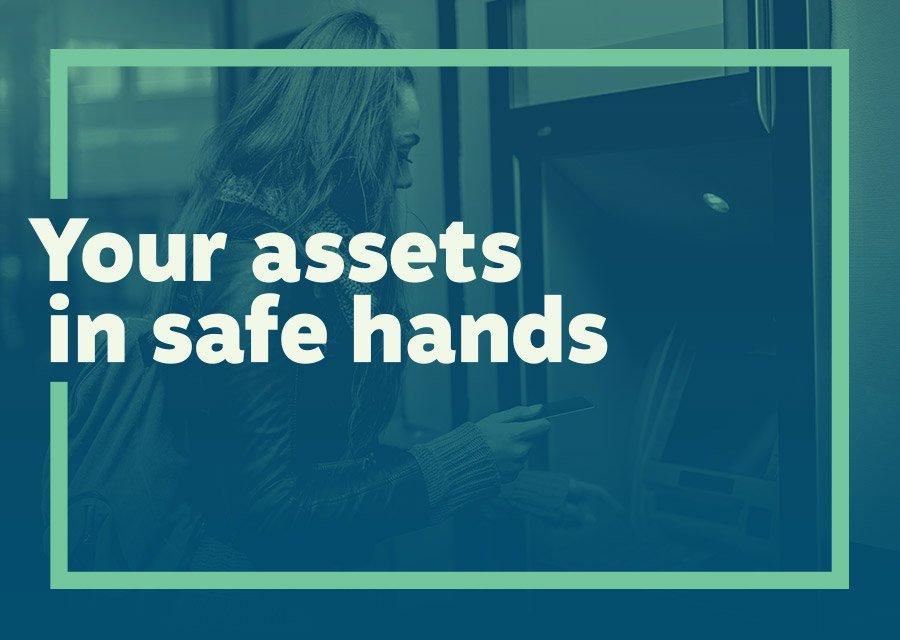 ATM Safe title frame