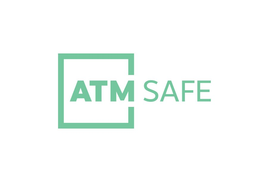 ATM Safe logo (single colour)