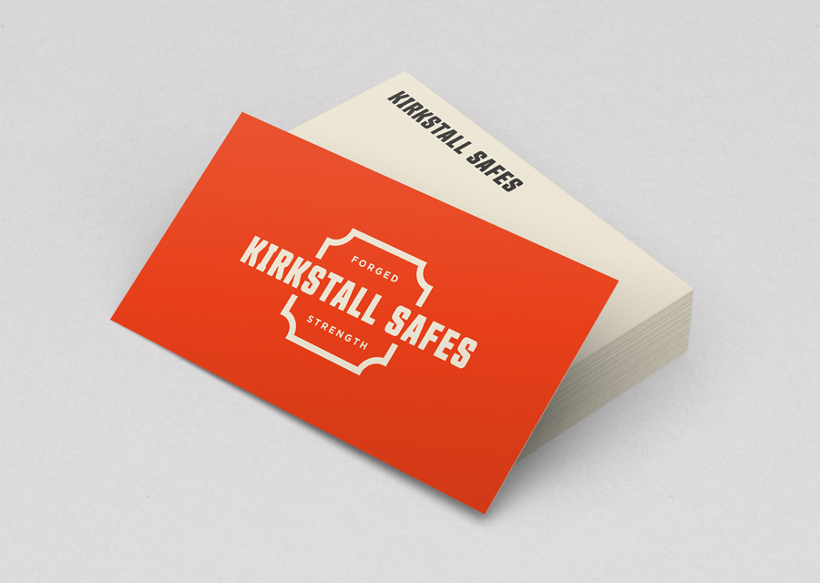 Kirkstall Safes business cards