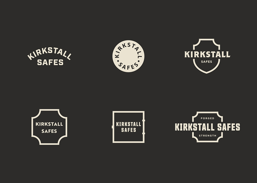 Kirkstall Safes logo development