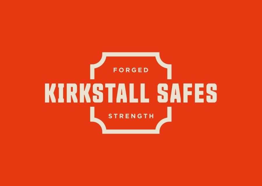 Kirkstall Safes logo on furnace