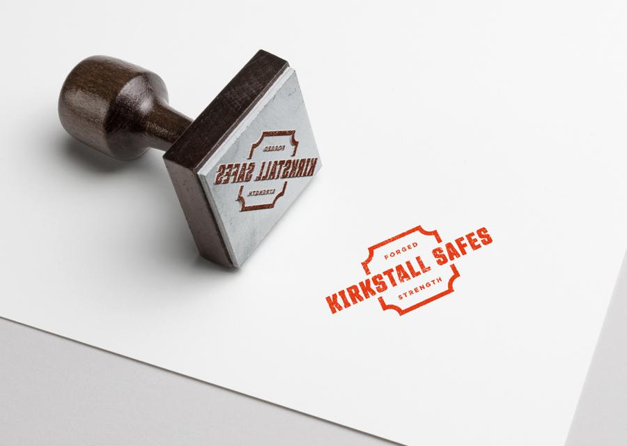 Kirkstall Safes ink stamp