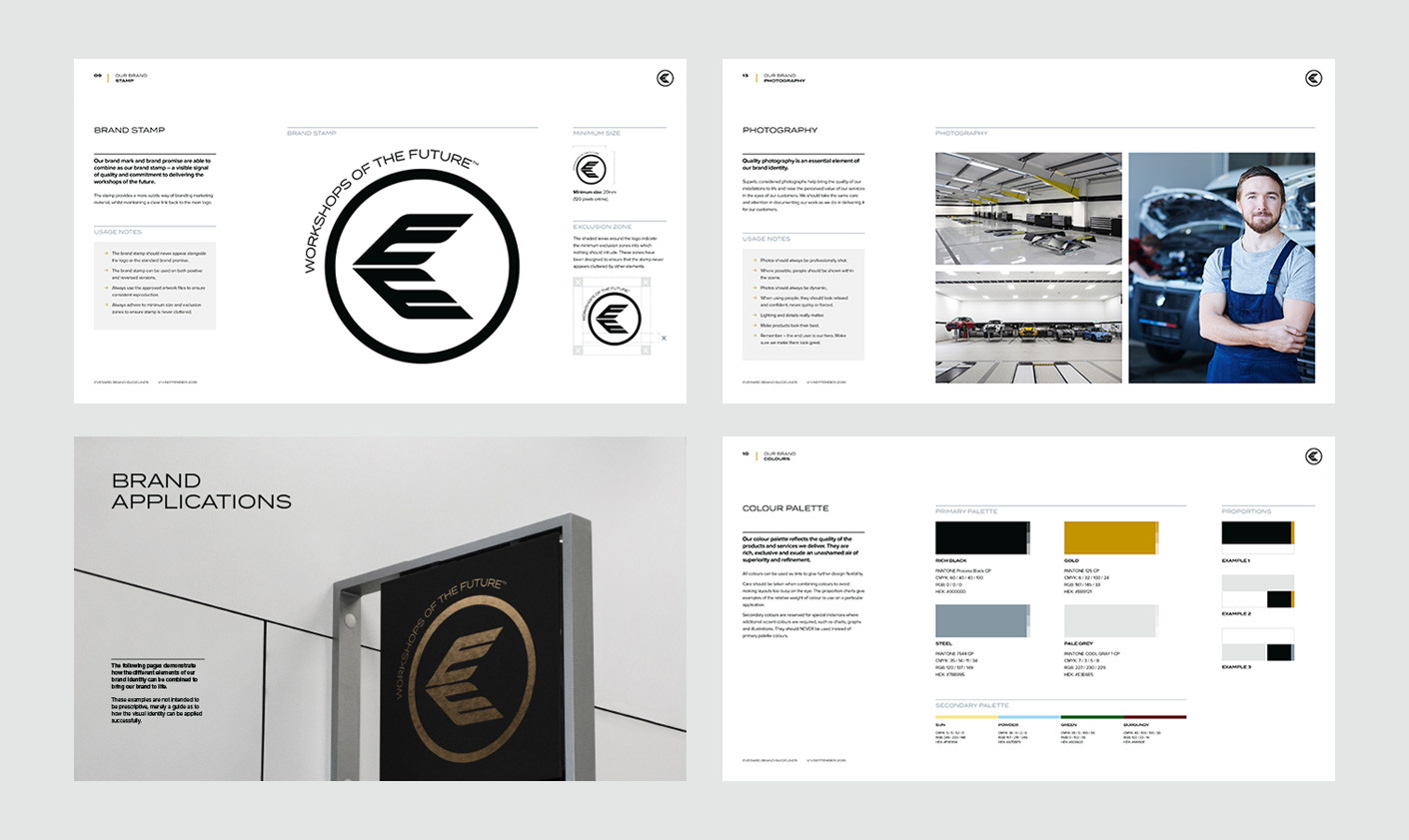 Everard brand guidelines