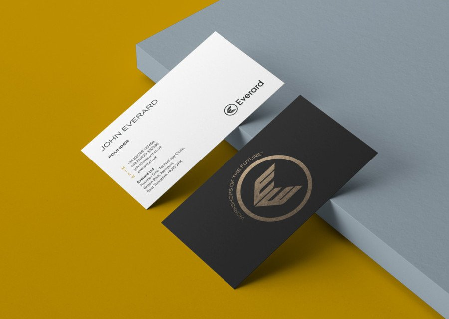 Everard business cards