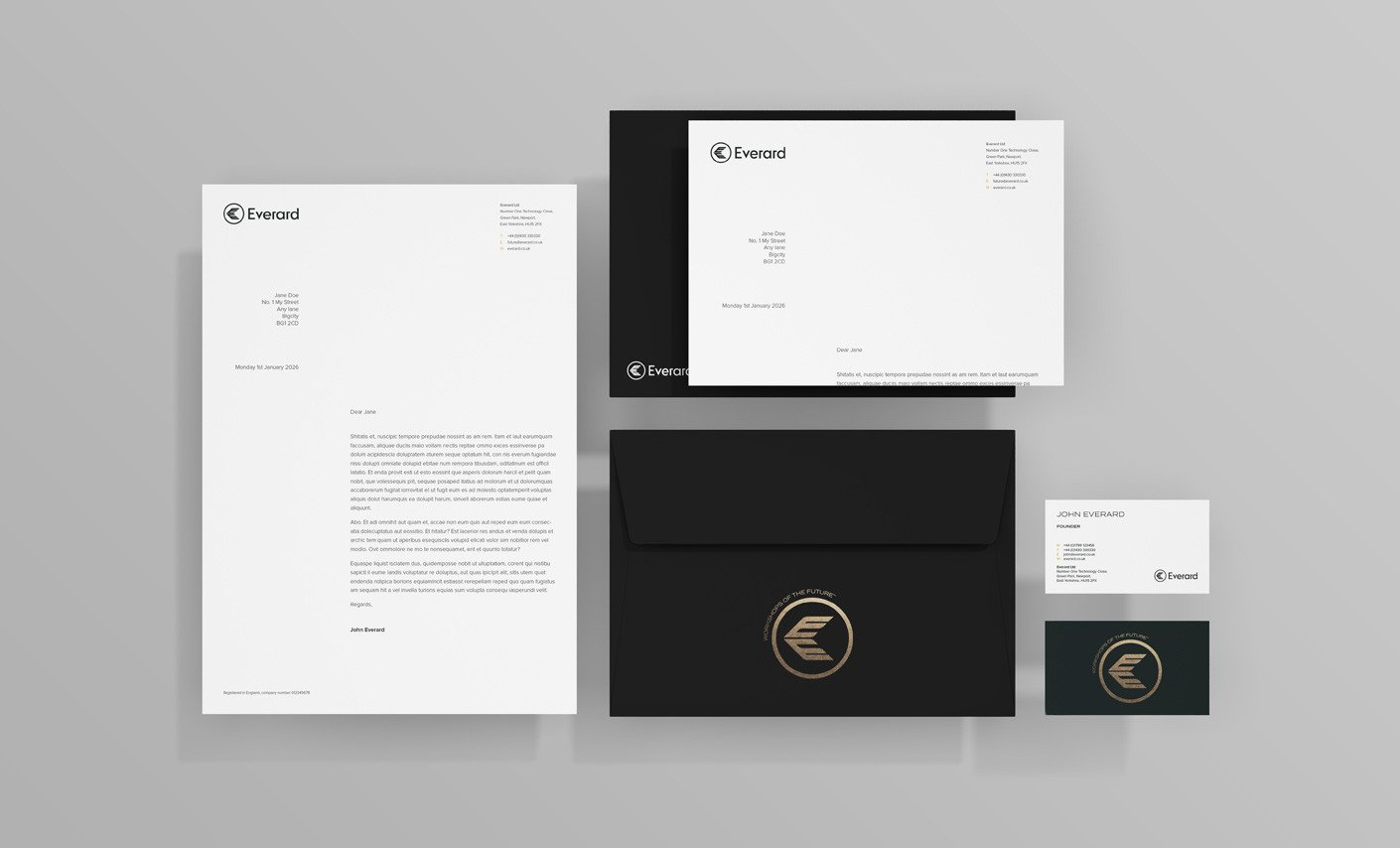 Everard stationery